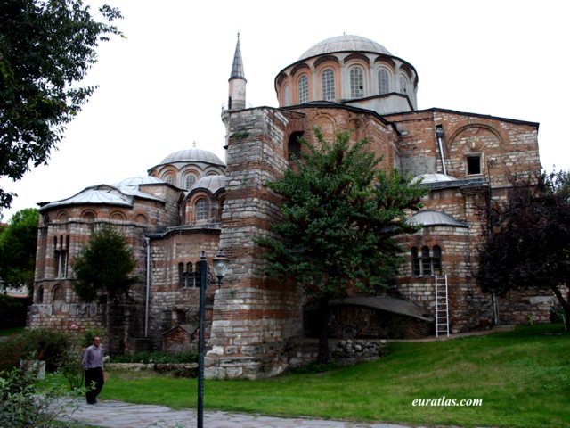 Photos of Turkey, Istanbul: Exterior View of the Chora Church
