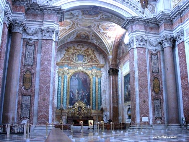 Photos Of Rome  The Baths Of Diocletian  Today Santa Maria