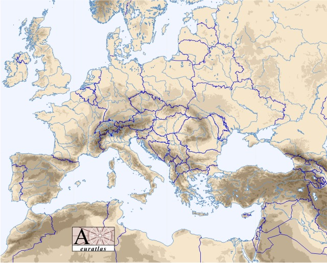maps of europe countries. city geography europe maps