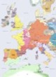 Detailed Map of Europe 1200