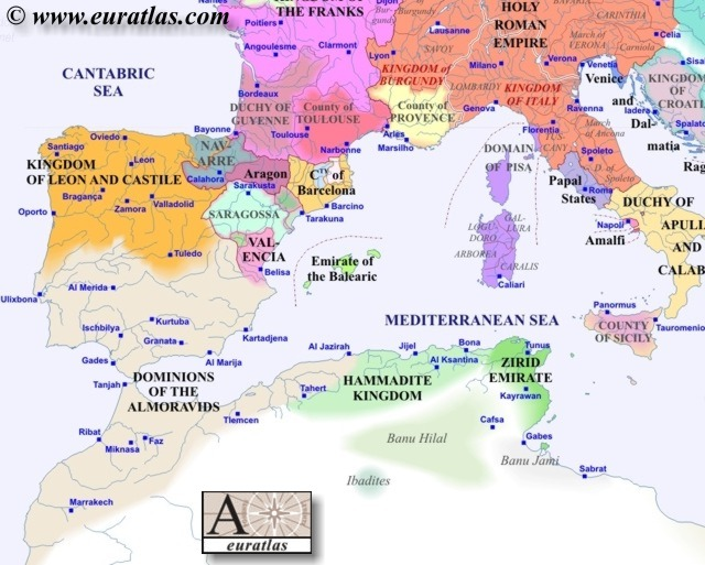 Europe Southwest 1100
