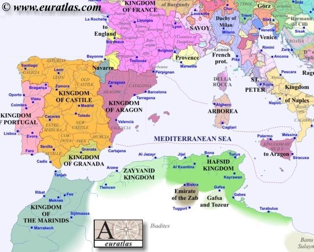 Europe Southwest 1400