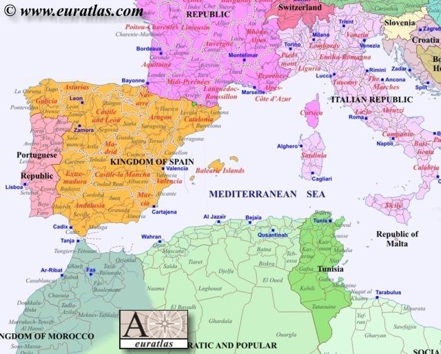 Europe Southwest 2000